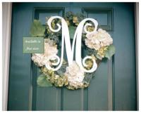 Acrylic Single Initial Script Wall Monogram At The Pink ...