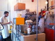 nitrogen ice cream at chin chin labs in camden