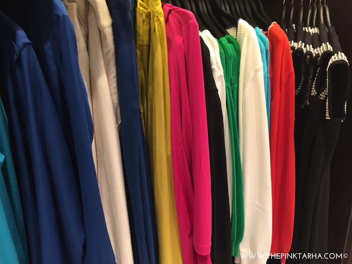 Cardigans in yummy colors