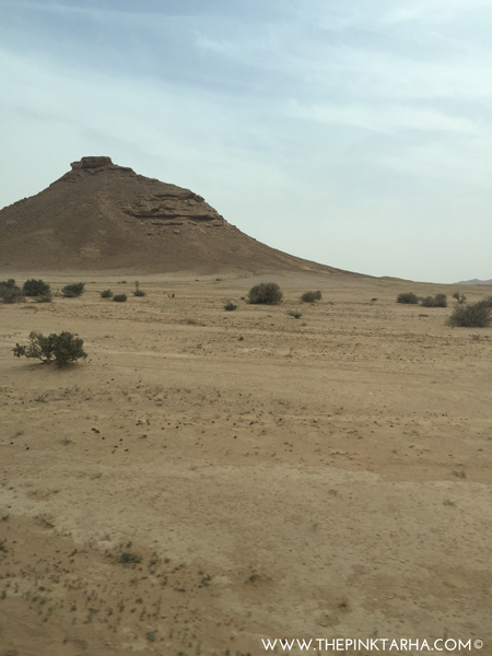 Look for this mountain just after the Acacia Valley