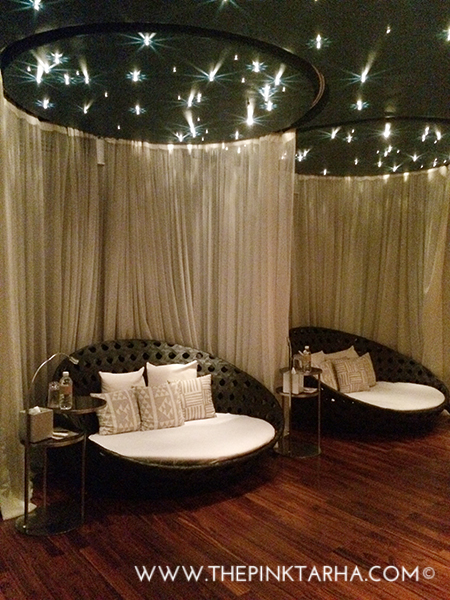 The unforgettable Relaxation Lounge.