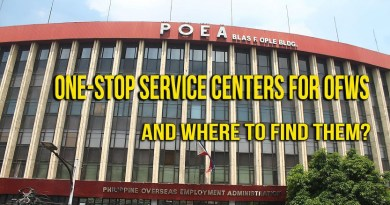 OFW One-Stop Service Centers