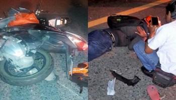 Filipino teacher dies in motorcycle accident in Phetchaburi