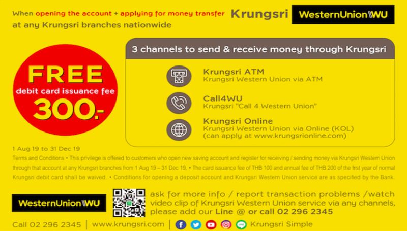 Krungsri Western Union: A Better Way to Reach Your Loved
