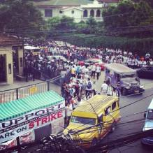 holy angel university teacher's strike 07