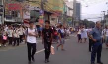 holy angel university teacher's strike 08