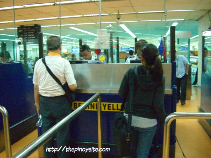immigration desk naia 1