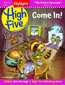 Highlights High Five Magazine - Great for toddlers and preschoolers