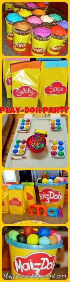 Play-doh birthday party ideas