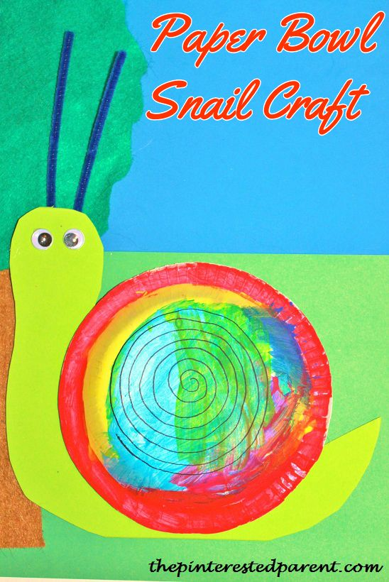 Snail Crafts – The Pinterested Parent