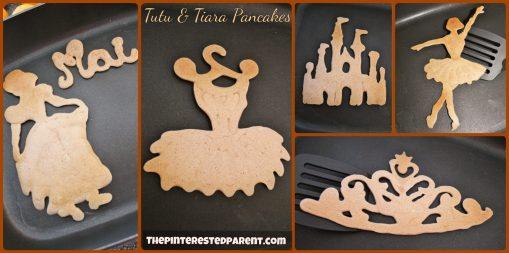 Tutu & Tiara Princess Pancakes