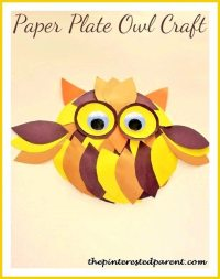 10 Cute Owl Crafts For Kids | The Pinterested Parent