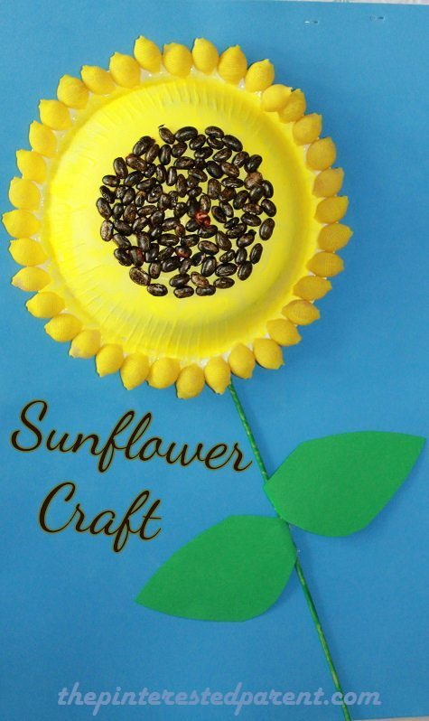 sunflower craft the pinterested parent