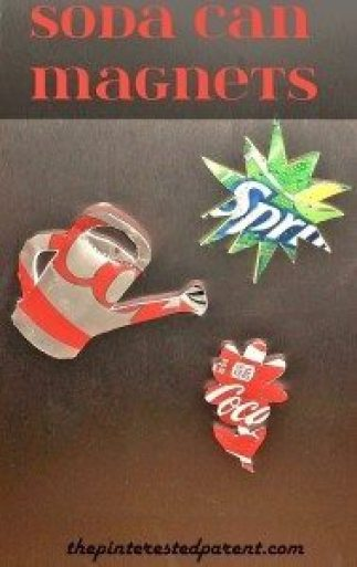 Soda Can Magnets