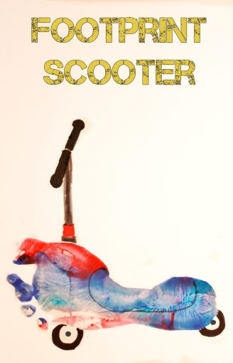 Footprint Scooter