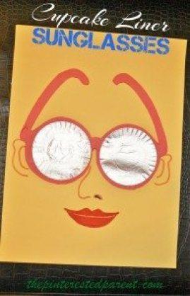 Cupcake Liner Sunglasses