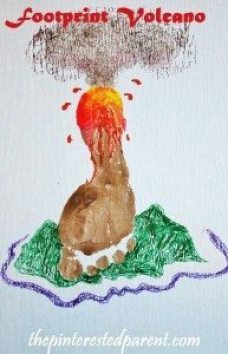 Footprint Volcano Craft