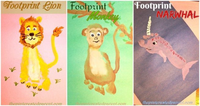 Footprint Crafts from L - N