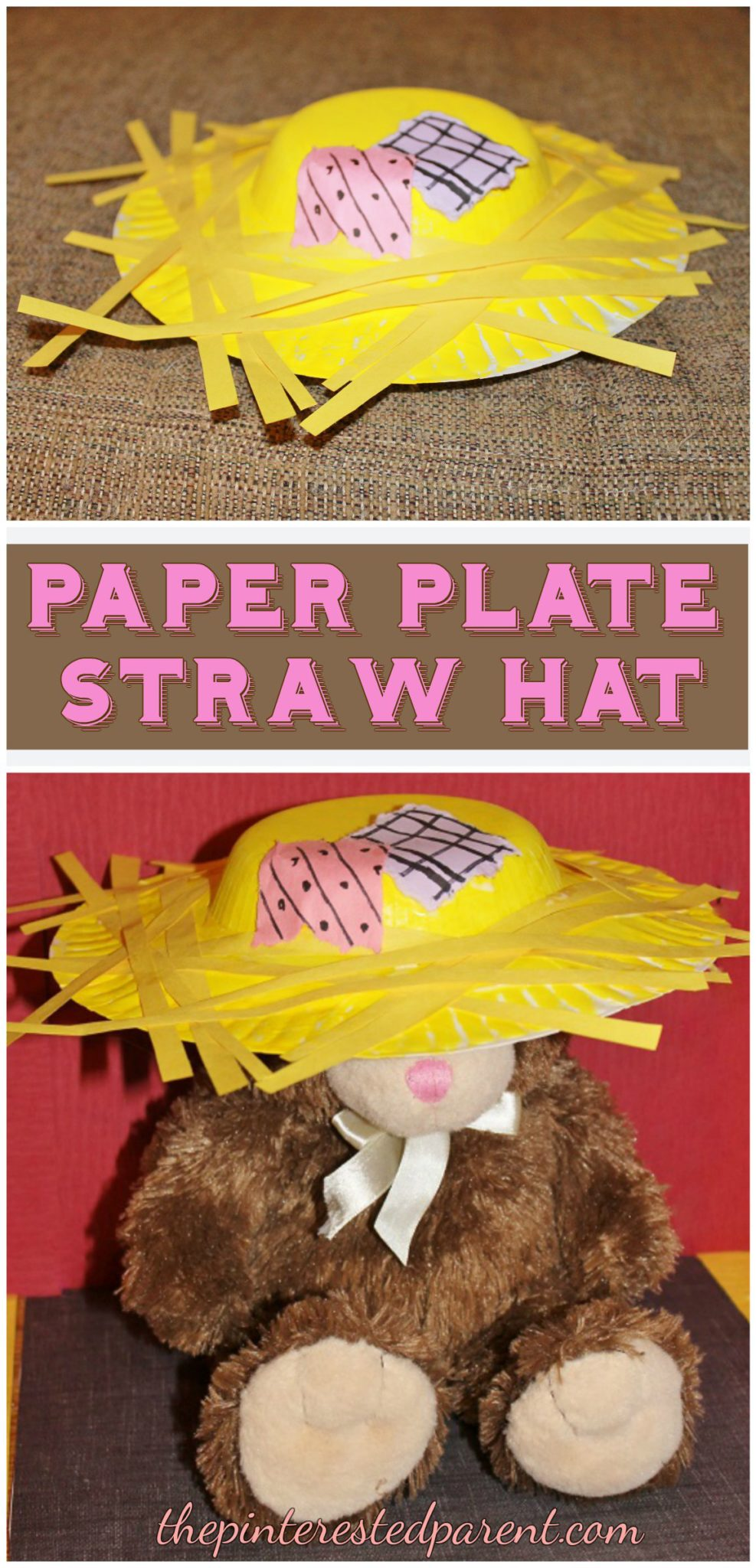 paper plate scarecrow Fun with paper plate masks these are super fun and easy to make and great for young kids make these paper plate masks at a party or for fancy dress.