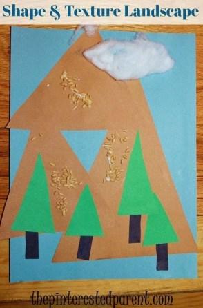 Shape & Texture Mountain Landscape