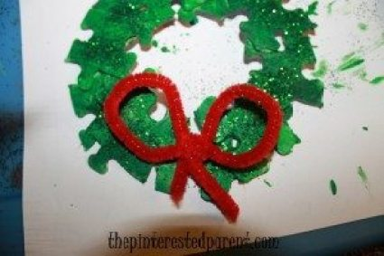 Puzzle piece wreath the pinterested parent for Decoration or embellishment crossword