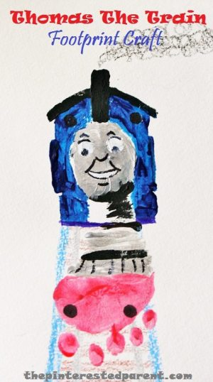 Thomas the Train Footprint Craft