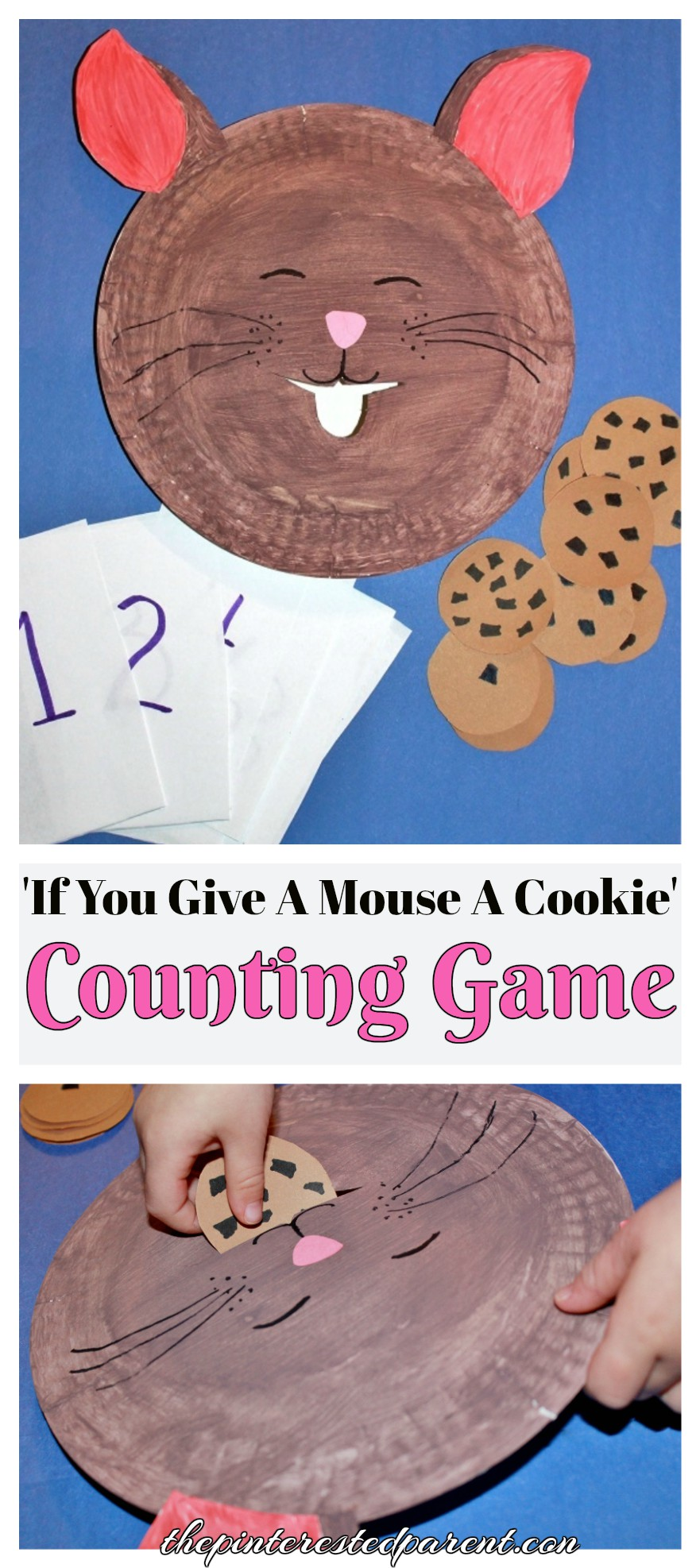 \u0027If You Give A Mouse A Cookie\u0027 Counting \u0026 Feeding Game - Paper Plate  sc 1 st  The Pinterested Parent & If You Give A Mouse A Cookie\u0027 Counting Game \u2013 The Pinterested Parent
