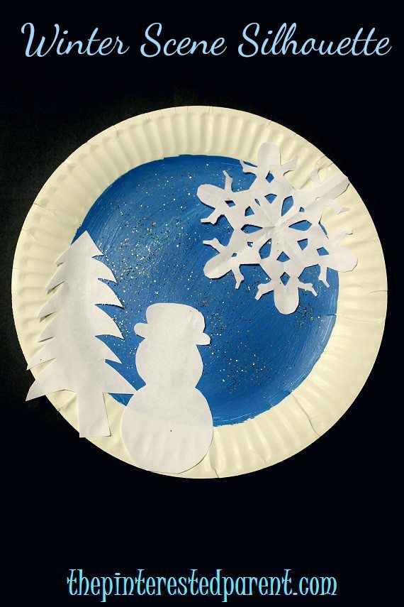 Paper plate winter crafts the pinterested parent for Winter crafts for children
