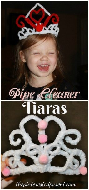 Pipe Cleaner Tiaras