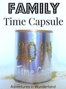 New Year's Eve Time Capsule by Adventures In Wunderland