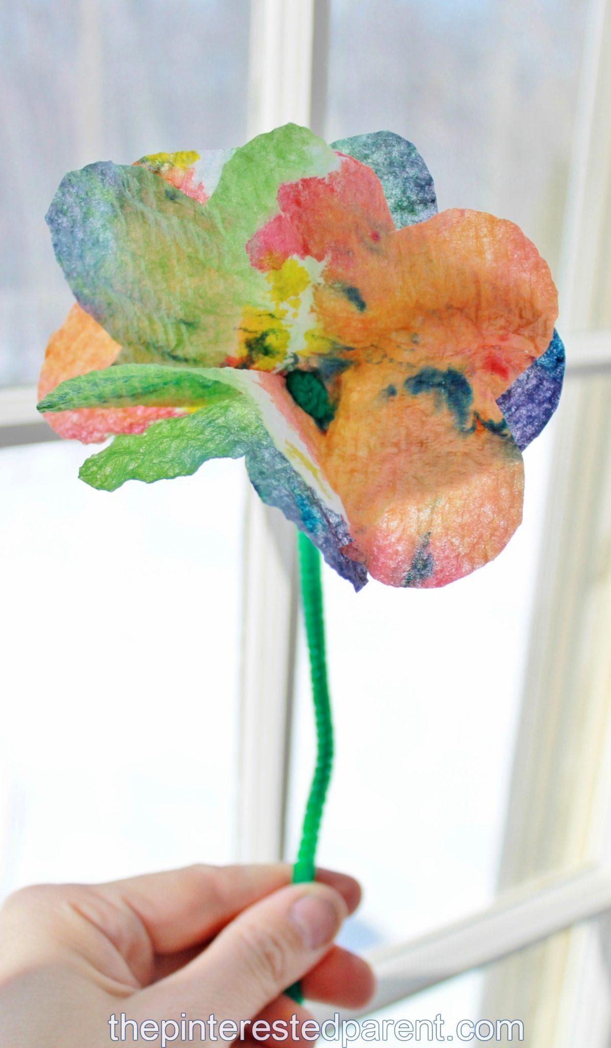 Paper Towel Flower Yelomphonecompany