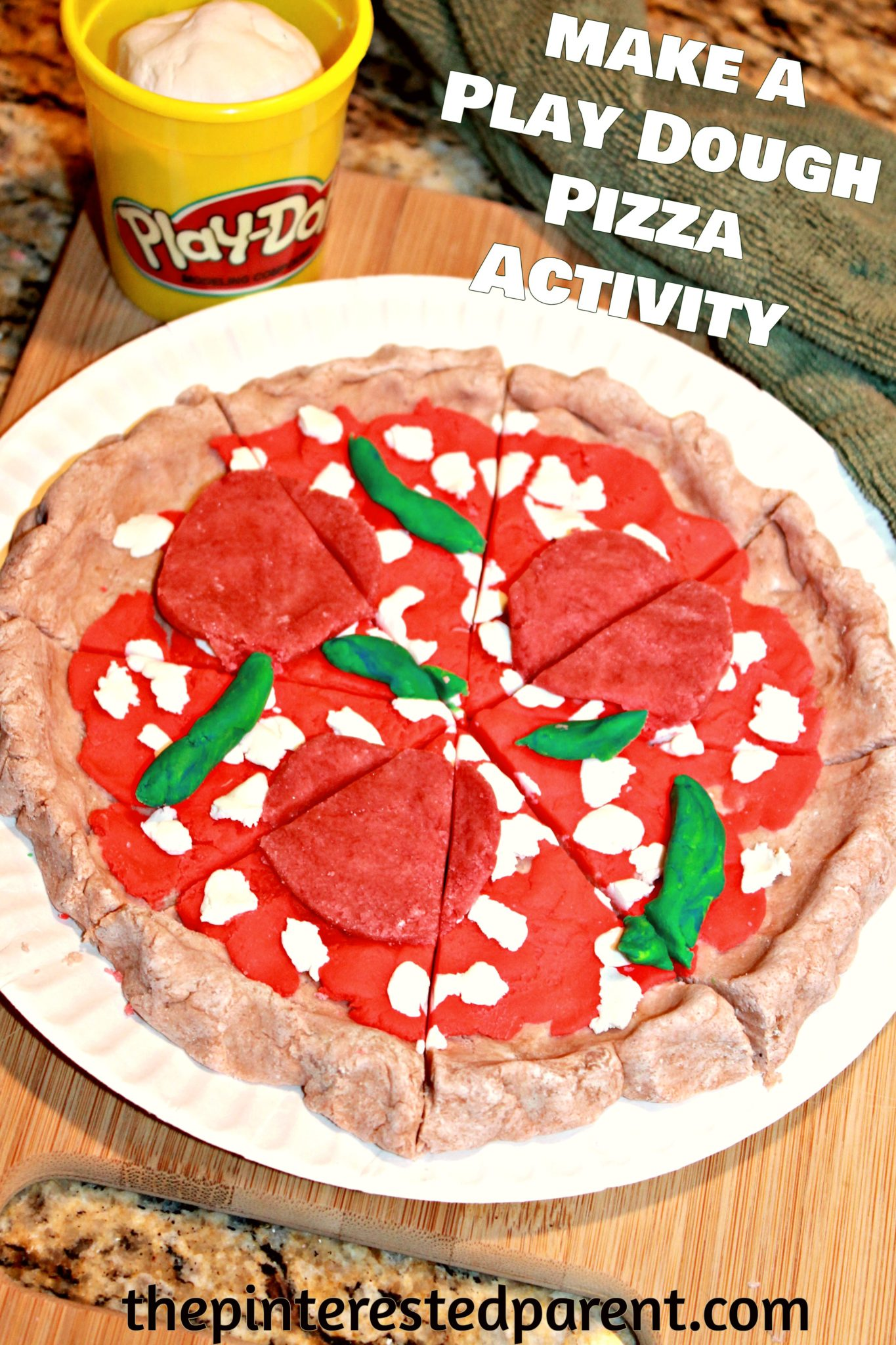 pizza making play dough activity the pinterested parent. Black Bedroom Furniture Sets. Home Design Ideas