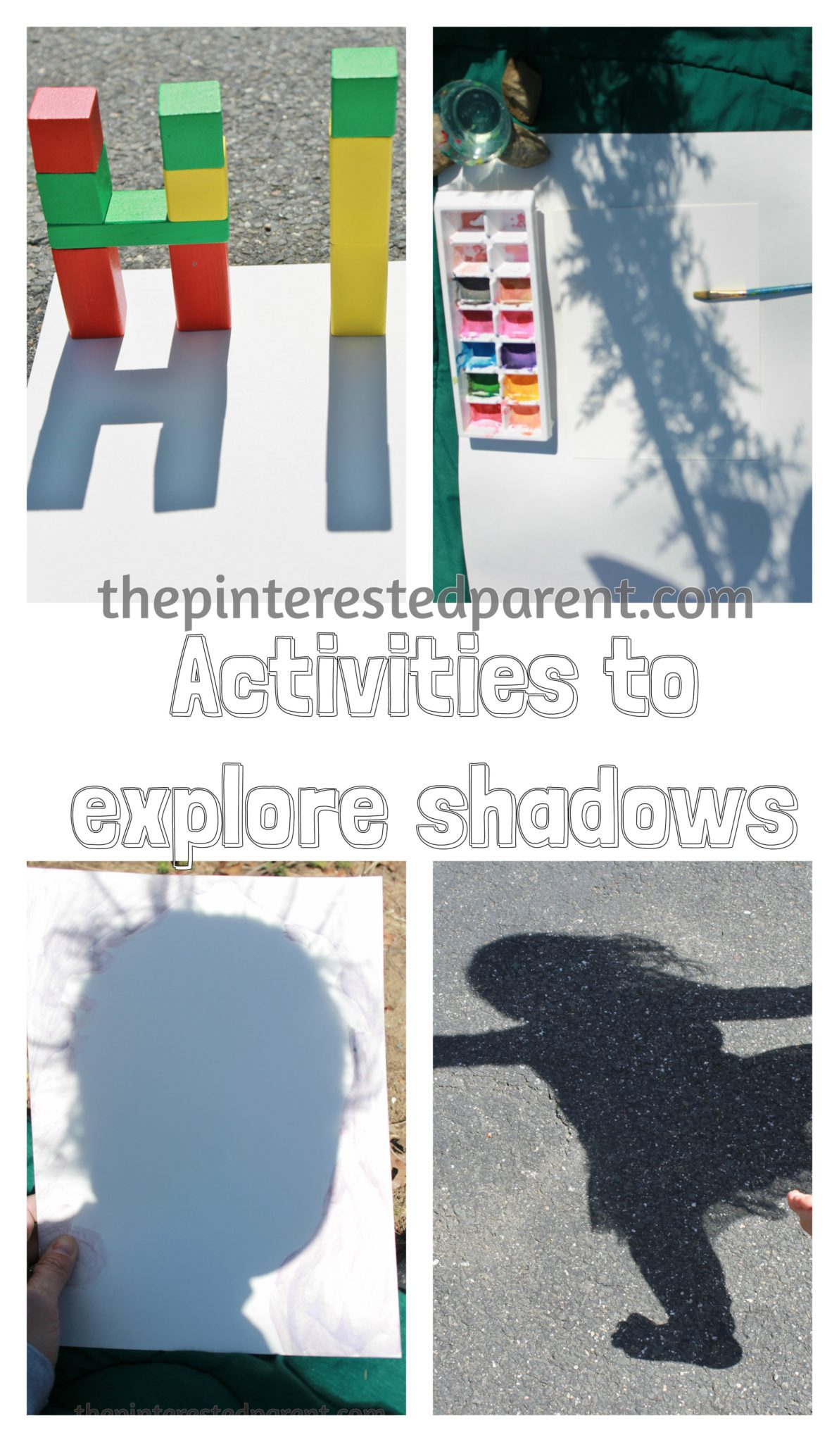 Exploring Shadows The Pinterested Parent
