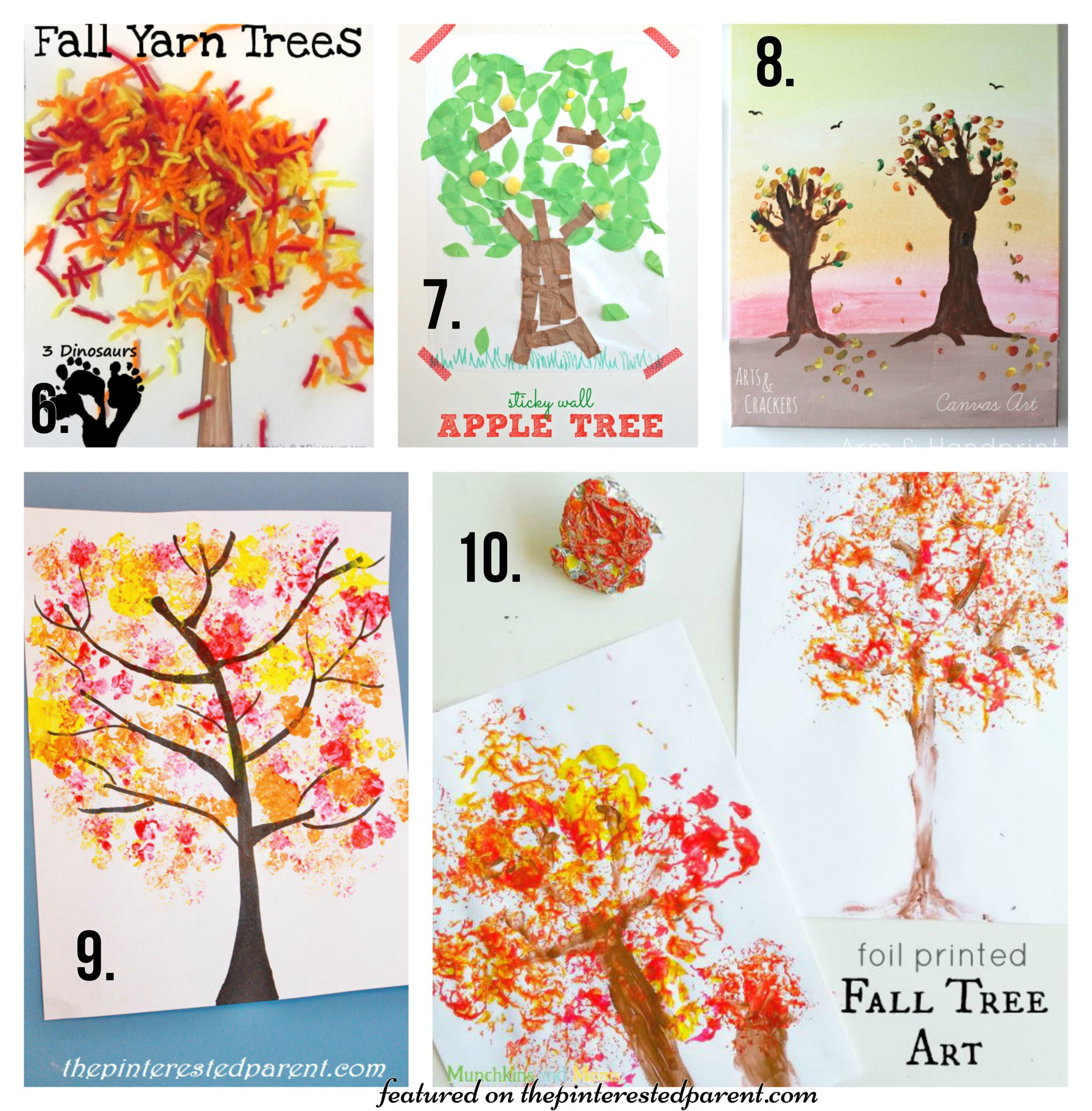 20 Fall Tree Arts Amp Crafts Ideas For Kids The