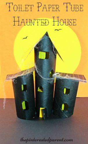 Cardboard Tube Haunted House The Pinterested Parent