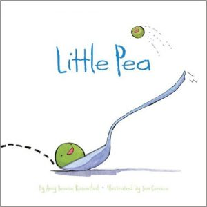Little Pea by Amy Krouse Rosenthal - funny books for preschoolers