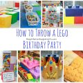 Great Lego birthday party ideas for kids. decorations, food and activities. Kid's