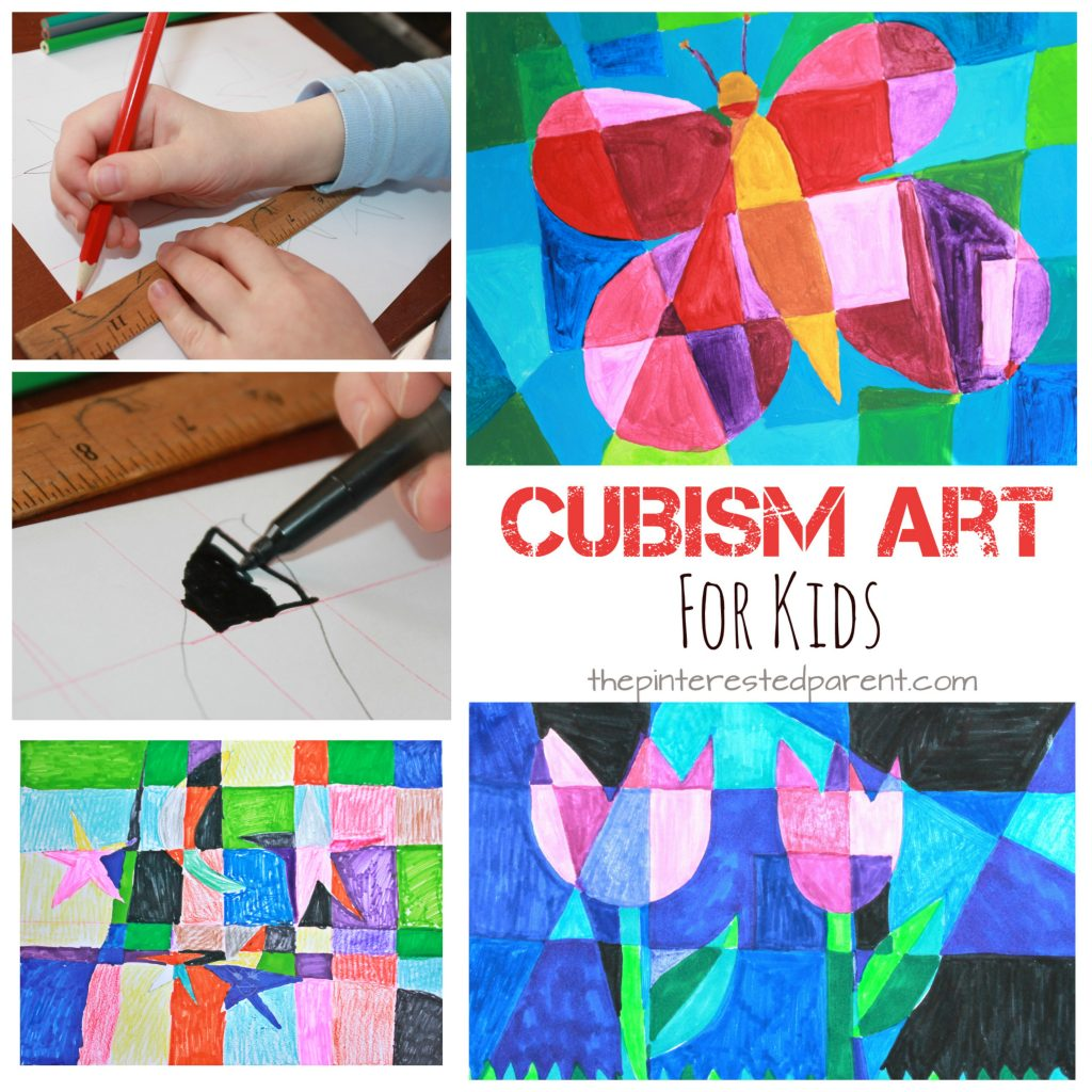 Picasso Inspired Cubism Art For Kids The Pinterested Parent