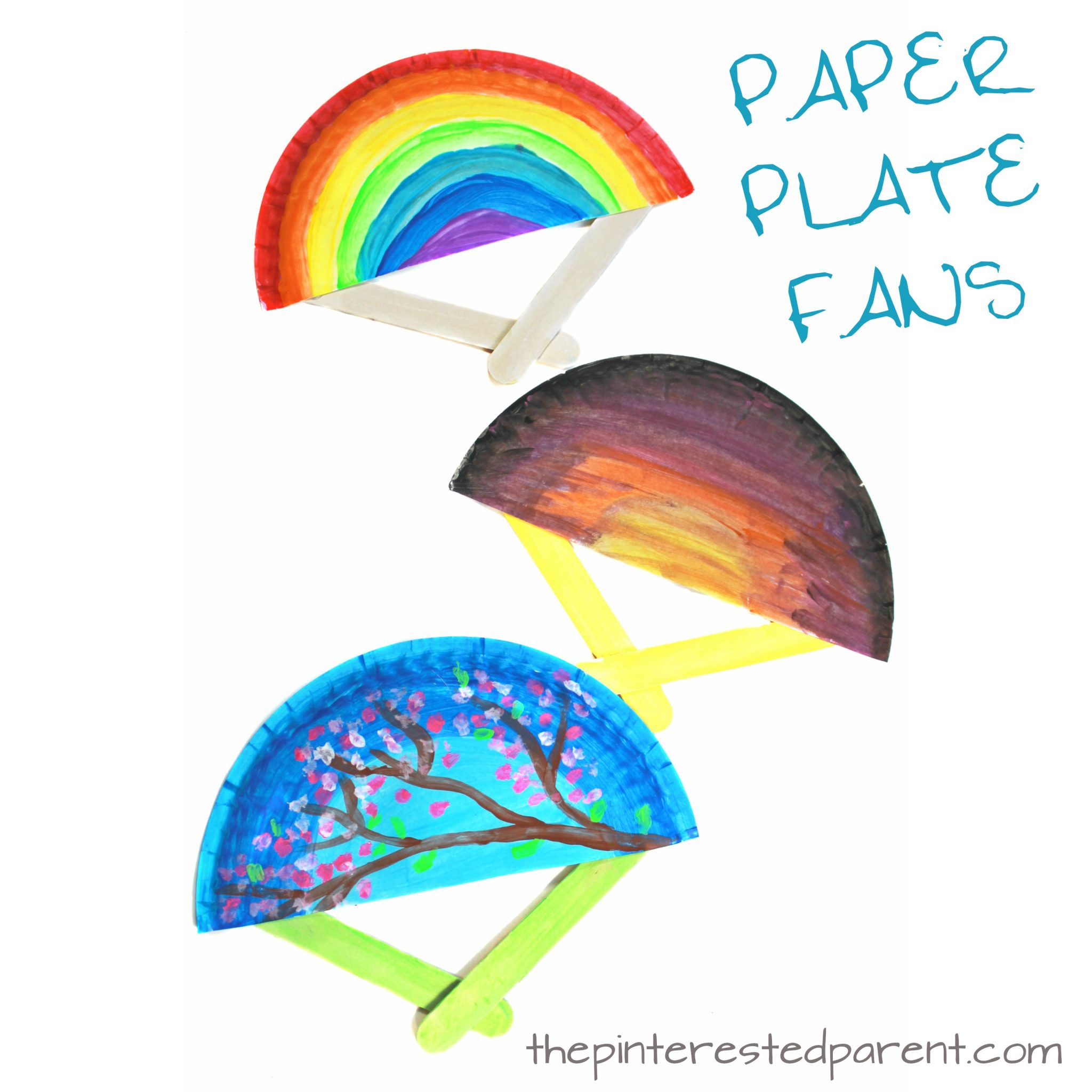Spring and Summer Fan Craft – The Pinterested Parent