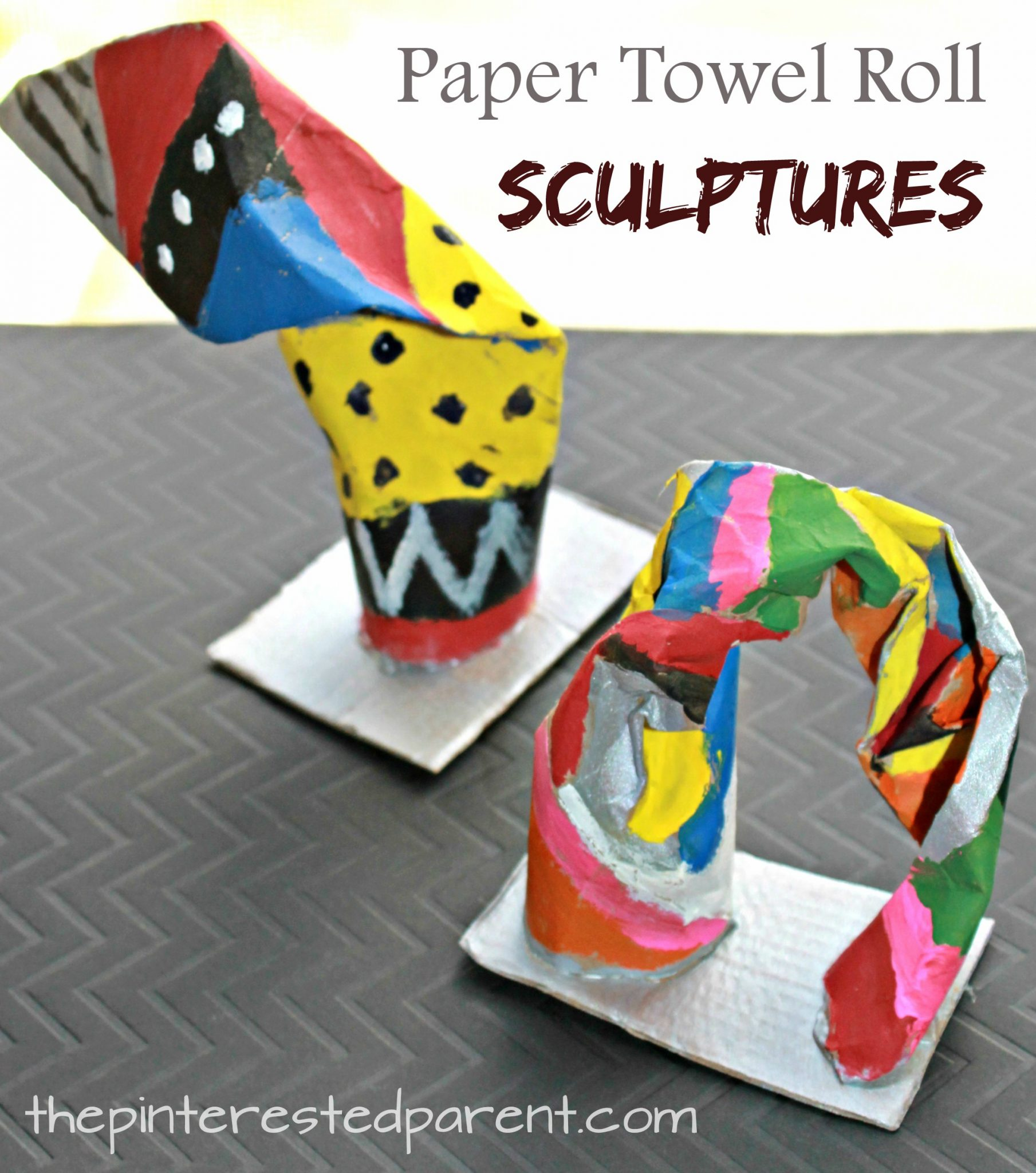 paper towel roll crafts paper towel roll sculptures the pinterested parent 5138