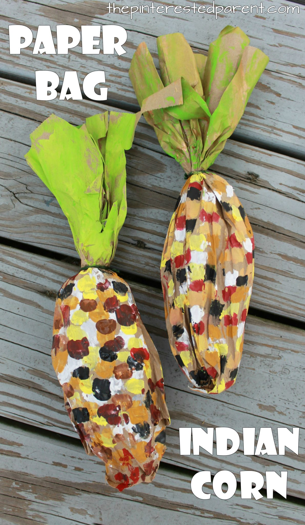 Stuffed Paper Bag Fall Crafts The Pinterested Parent