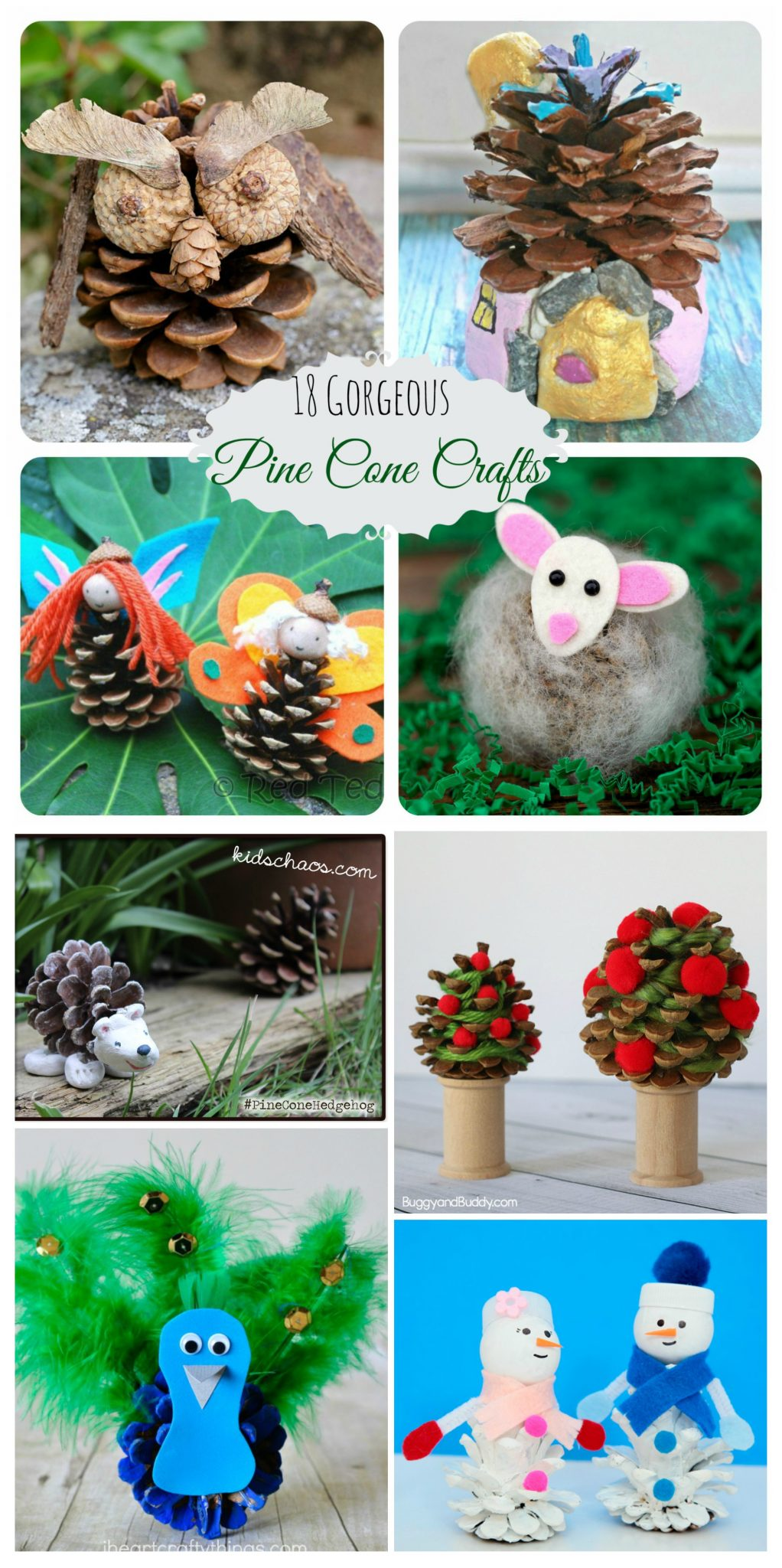 18 gorgeous pine cone crafts u2013 the pinterested parent