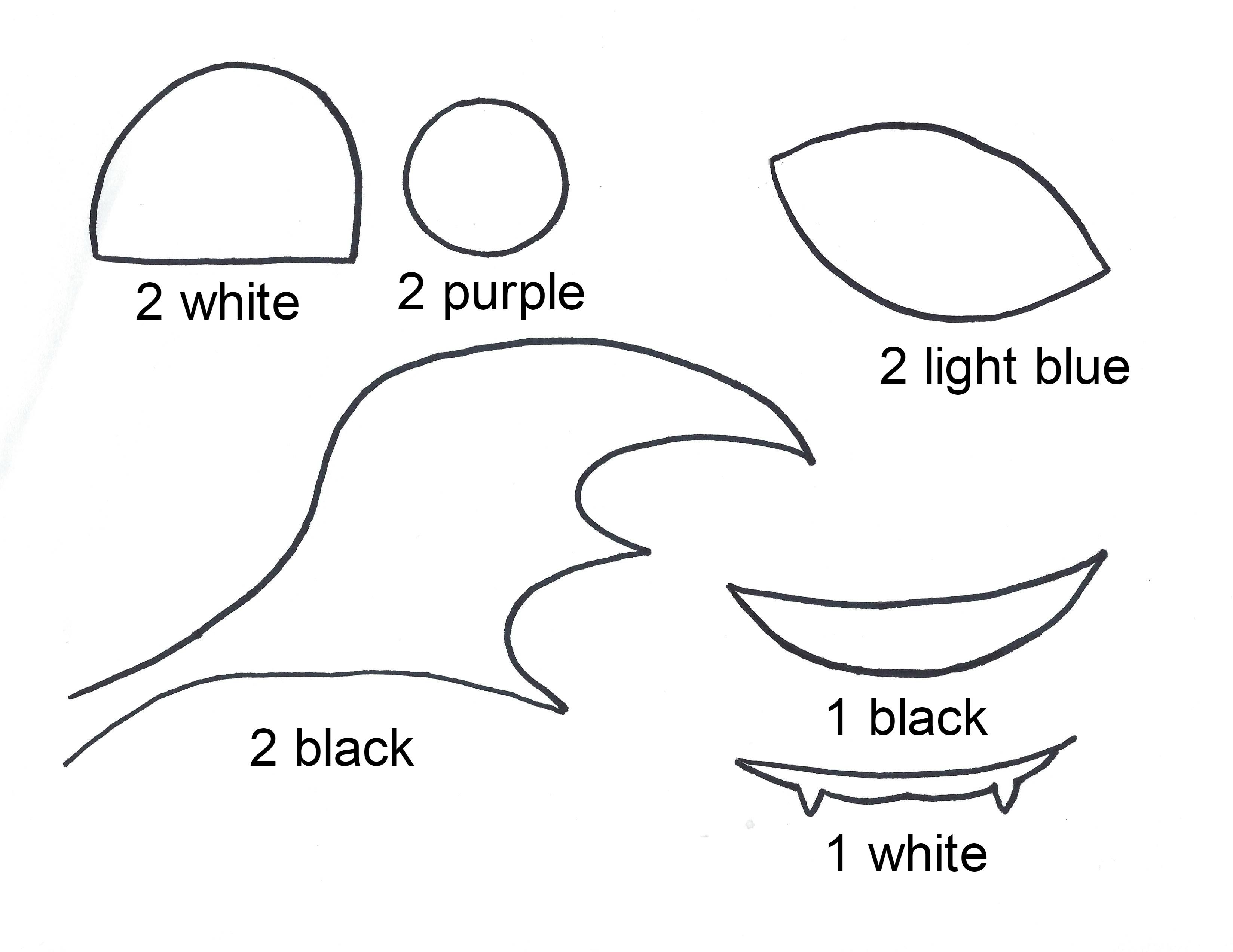 Paper Plate Mask Template & Monkey Mask
