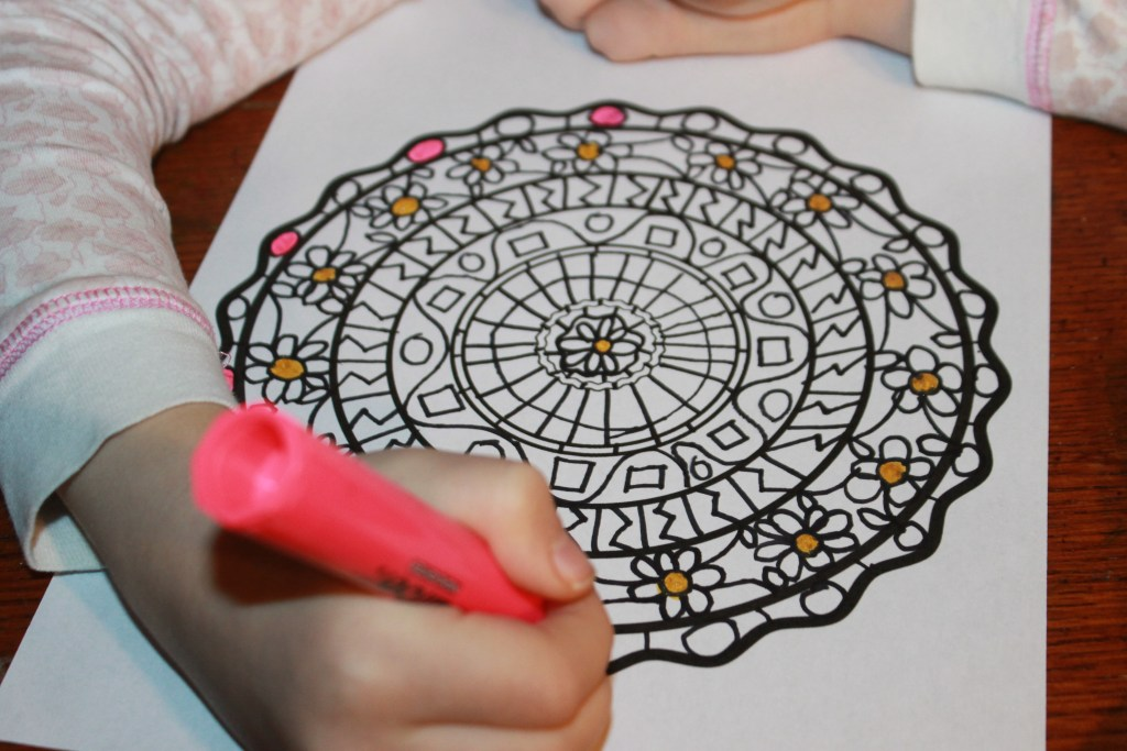 Mandala Turkey Craft with Printable Template - The ...