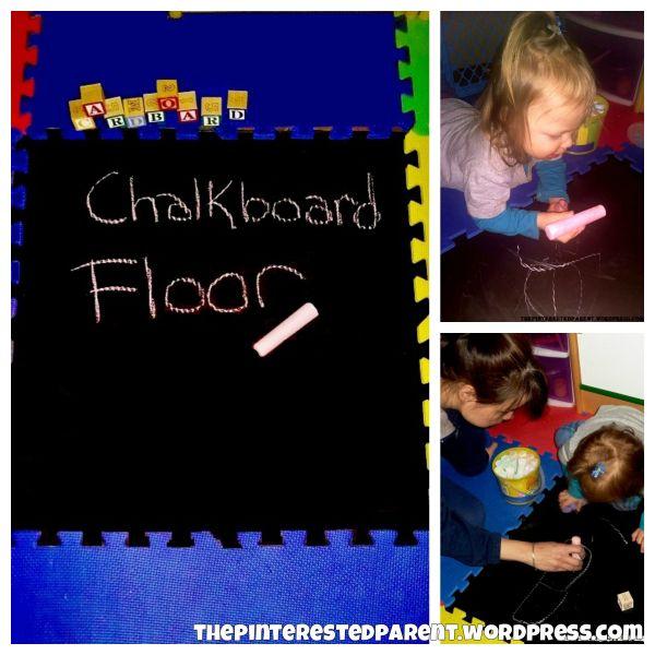 Chalkboardfloor