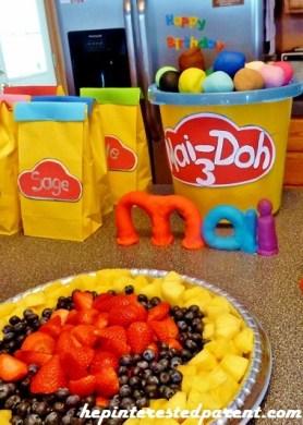 play-doh birthday party ideas
