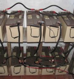 agm battery bank [ 3648 x 2736 Pixel ]
