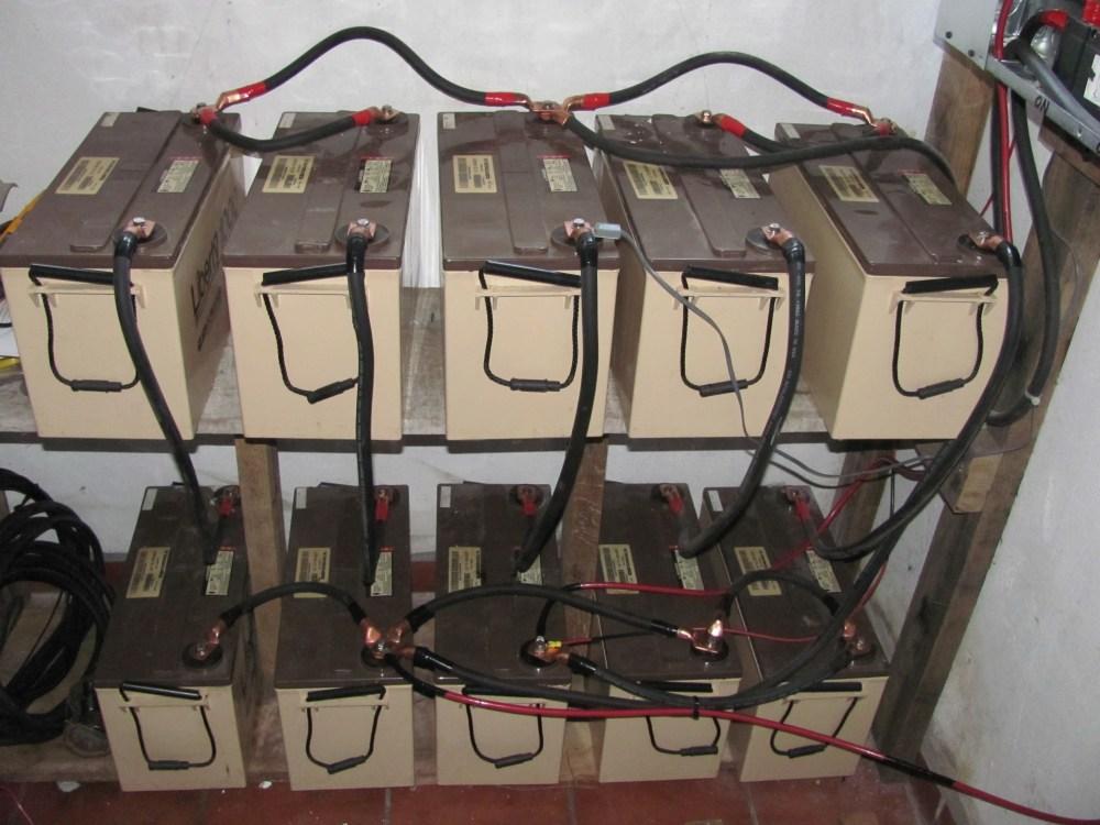 medium resolution of agm battery bank
