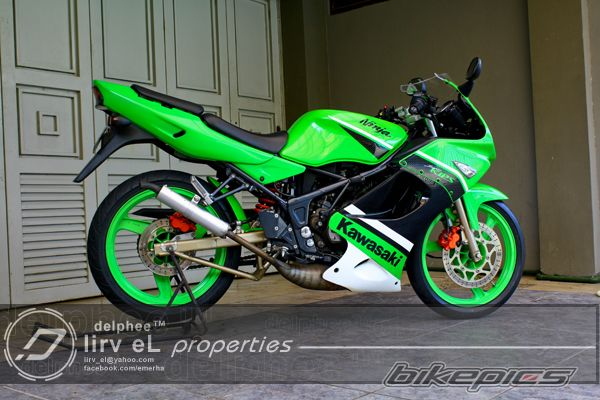 Kawasaki Ninja 150 RR dua tak modifikasi Part 2  MOTORBLITZ
