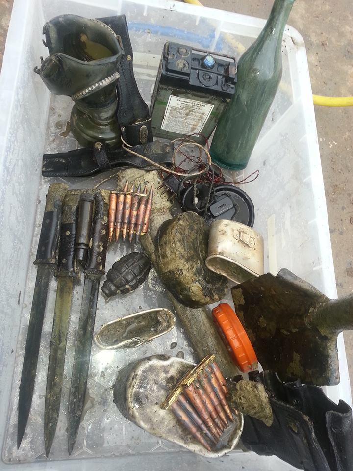 Recently dug Ammunition posted by NWD Latvian team member Dainis Dilba